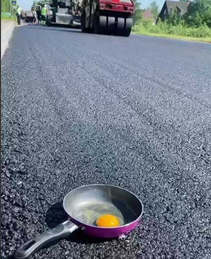 Кадр из видео дорожного комитета Ленобласти