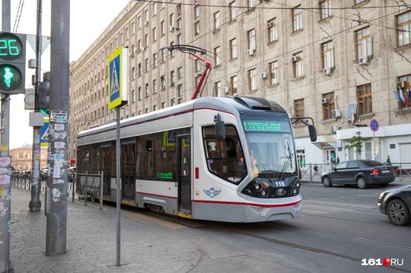 Власти обещали, что в Ростове появятся две ветки скоростного трамвая