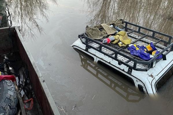 Водители сами удивилисьвнезапно прибывшей воде