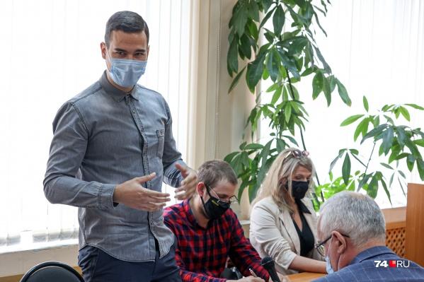 Из пятерых ответчиков в суд пришли трое: Павел Струнин, Олег Шамбуров и Мария Макарова