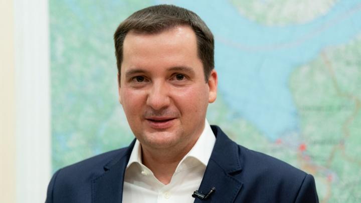 Губернатор Александр Цыбульский записался на вакцинацию от коронавируса