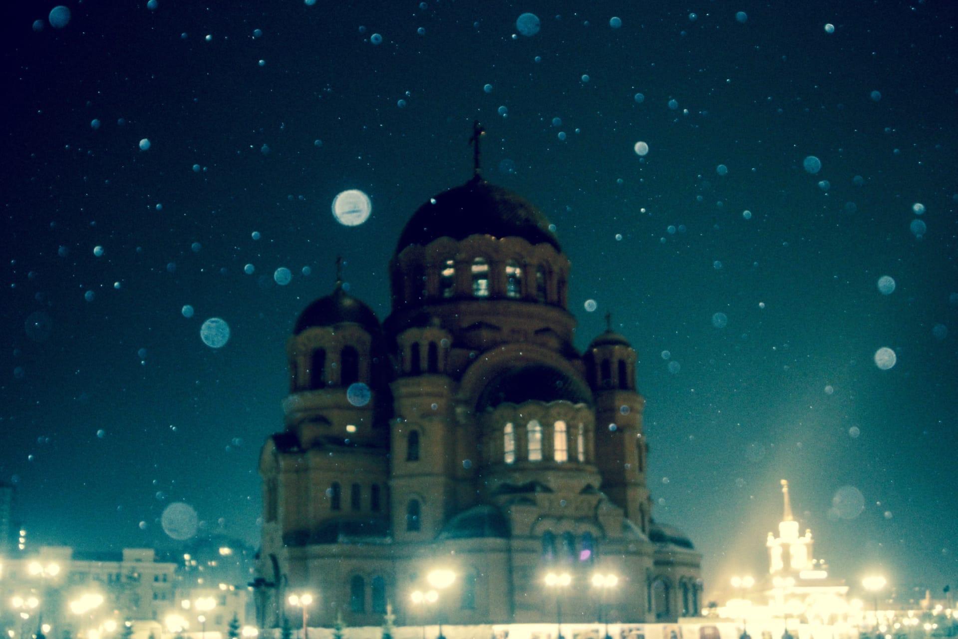 По прогнозам синоптиков, снег будет идти до самого утра