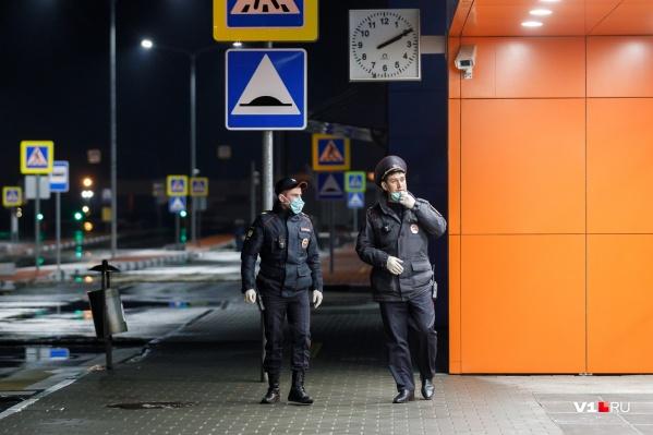 На место вызвали полицейских