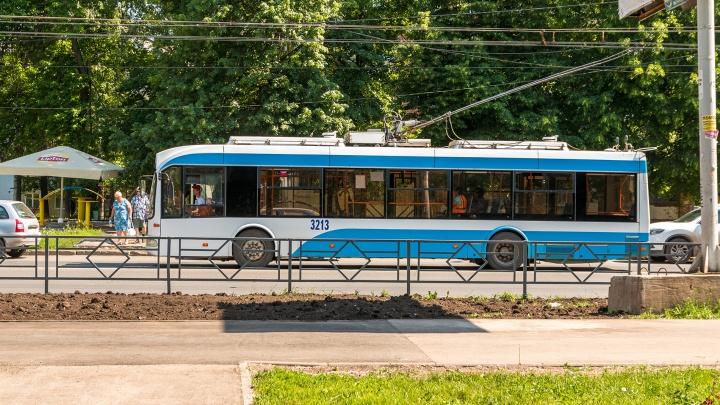 В Самаре изменят 2 трамвайных и 4 троллейбусных маршрута