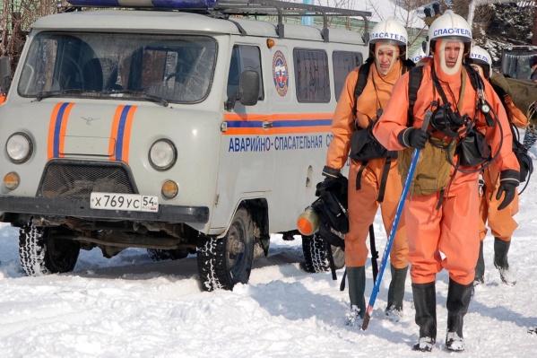 Инцидент произошел в районеозера Айскула, на месте работают спасатели