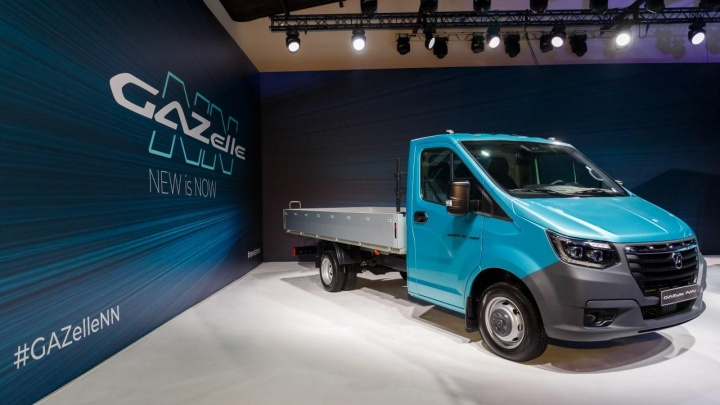 Премьера авторынка: в Челябинске презентовали автомобиль нового поколения «ГАЗель NN»