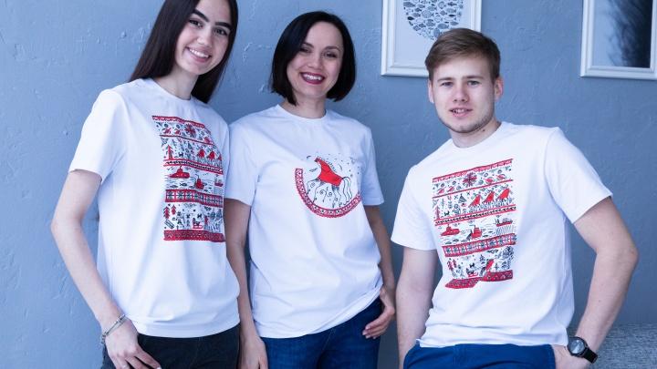 Мода на Север: дизайнер одежды из Архангельска шьет стильные и современные вещи с мезенской росписью