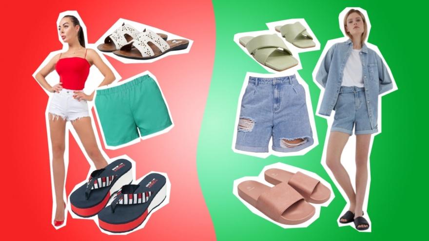 «Увезите это на дачу»: как носить самые опасные летние вещи — шорты и шлепки (ошибки совершают почти все)