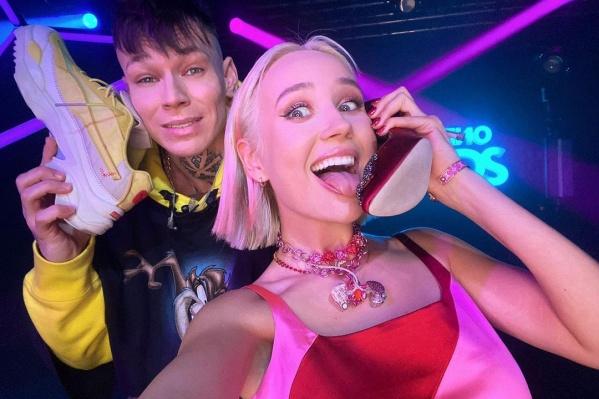 Певица выступила в ночном клубе Москвы вместе с екатеринбургским рэпером Niletto и призналась, что ей негде брать силы<br>