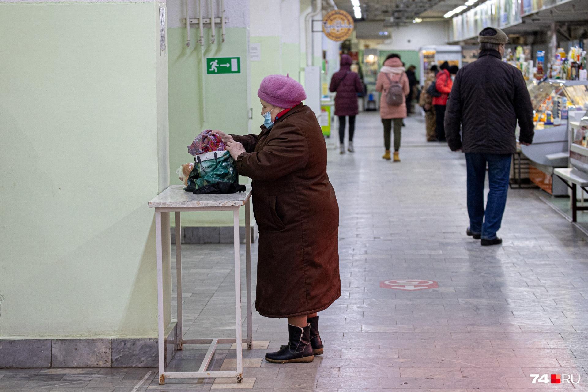 Пенсионеры привыкли ходить в «Никитинский» за молочкой