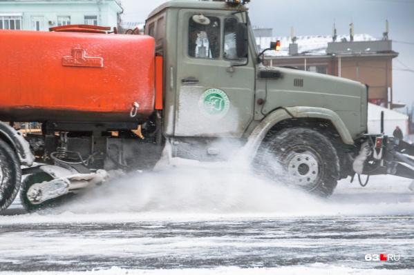 Контора вывезла меньше снега, чем указала в документах