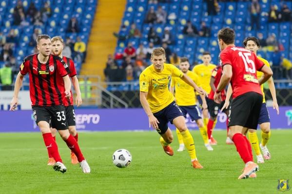 Владимир Обухов провел семь матчей за «Ростов»