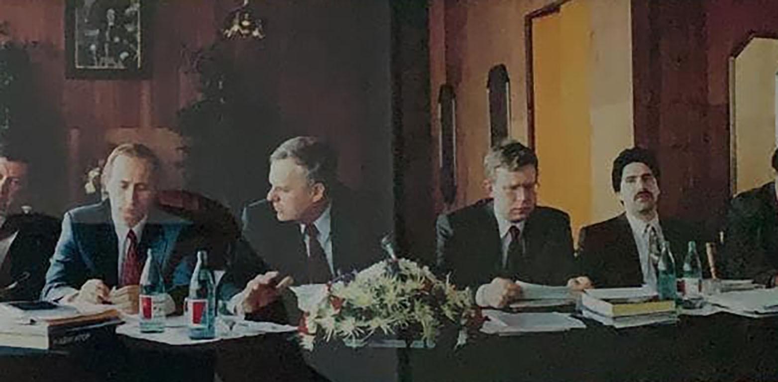 Путин, Собчак, Кудрин, Маневич