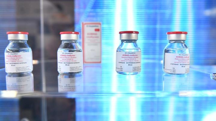 Евгению Куйвашеву на «Иннопроме» показали препарат для лечения COVID-19