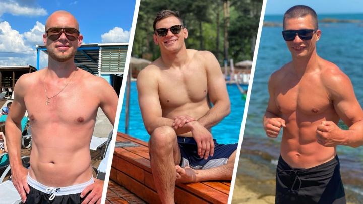 Вот это мускулы: 8 жарких красавчиков у городских бассейнов — некоторые из них свободны. Мы узнали, где они знакомятся