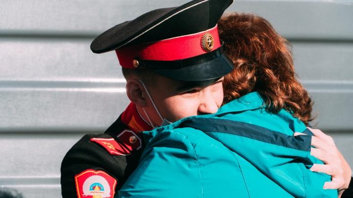 Омские кадеты вернулись домой из Севастополя