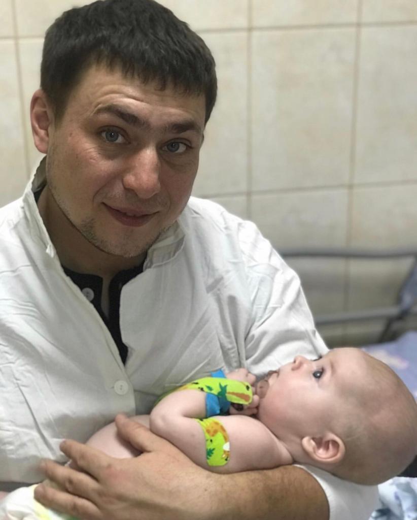 Дмитрий с сыном