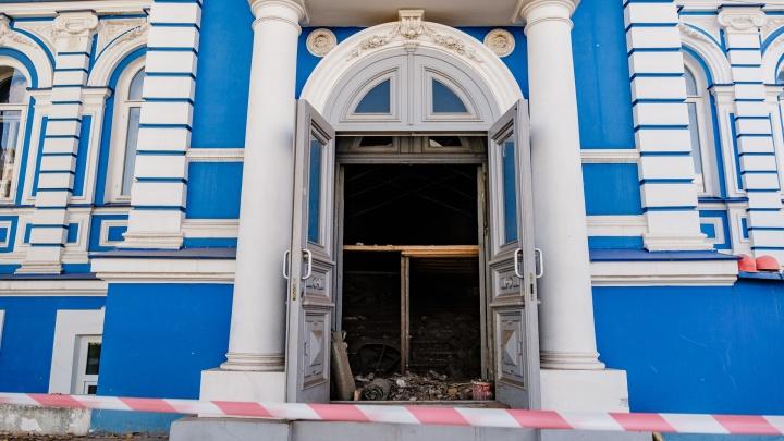 В пермском ТЮЗе начался ремонт исторической части здания