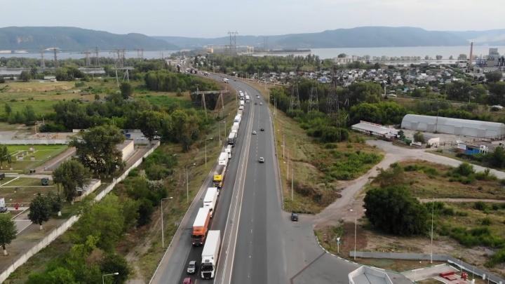 В Самарской области закроют проезд по трассе М-5