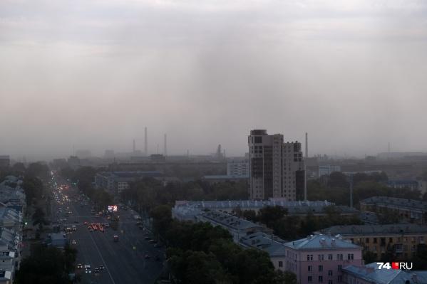 Непогода пришла в Челябинск с севера