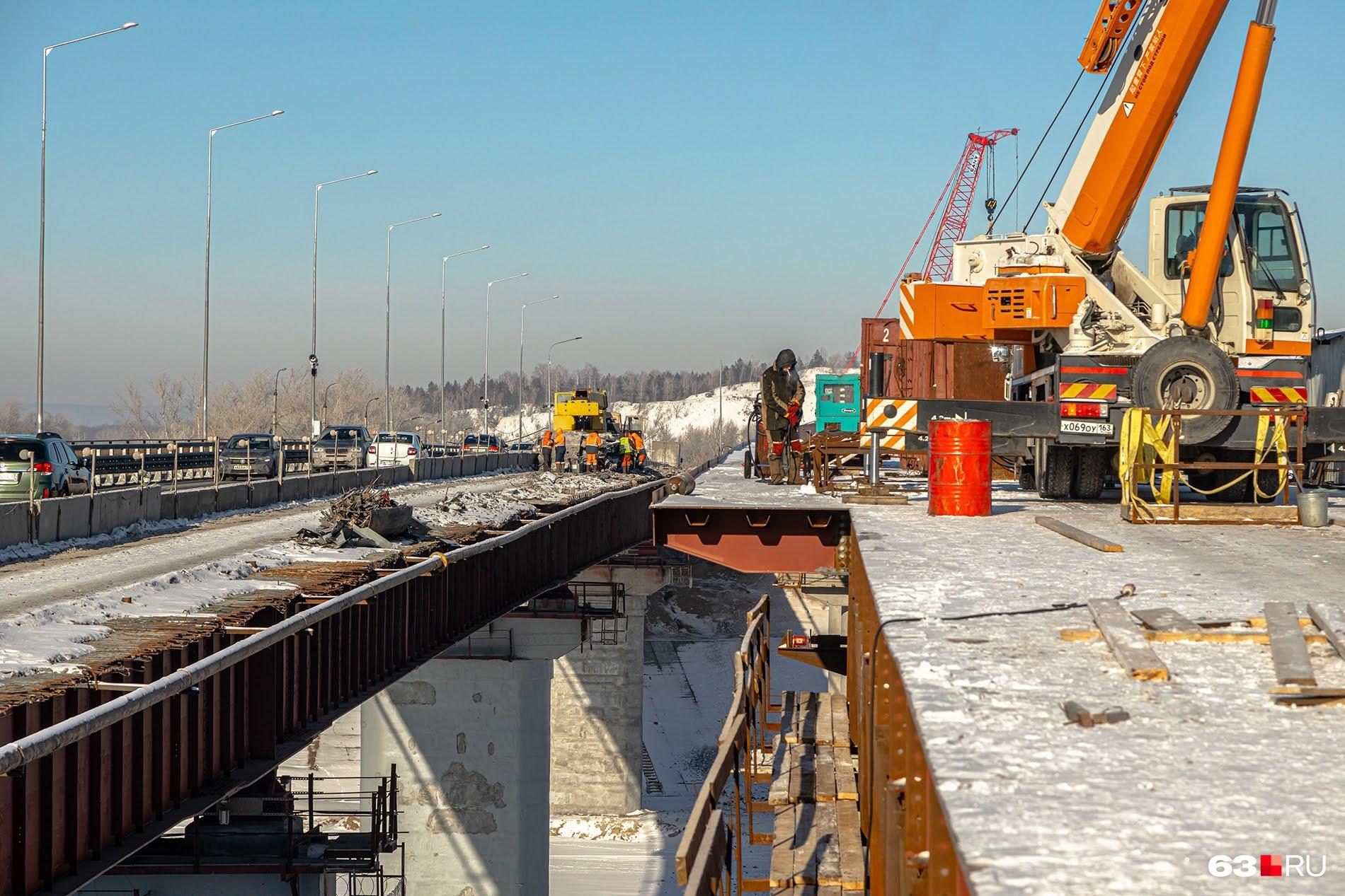 Конструкцию расширят до 12 метров