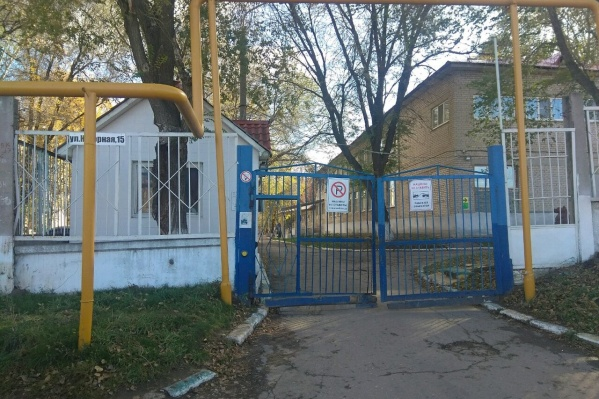 Пансионат находится на улице Нагорной