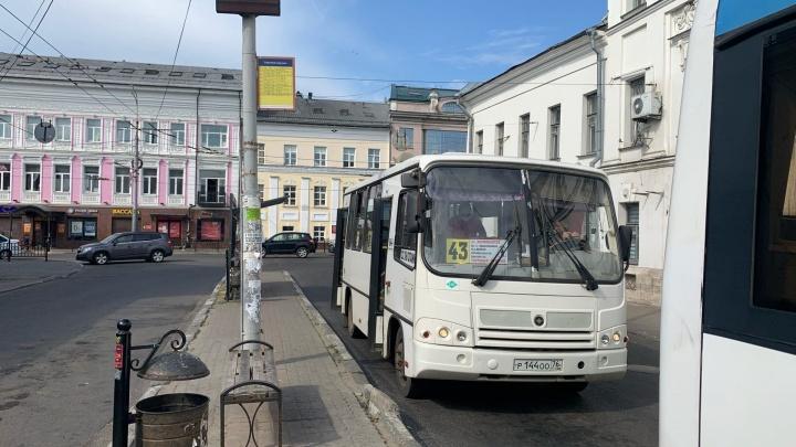 Почему по Ярославлю вместо автобусов ездят маршрутки, но с другими номерами: ответ властей