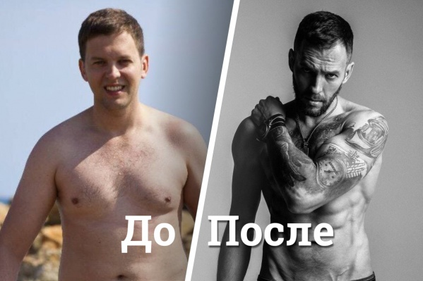 На фото слева Петру около 30 лет, справа — 38. И это будто два разных человека