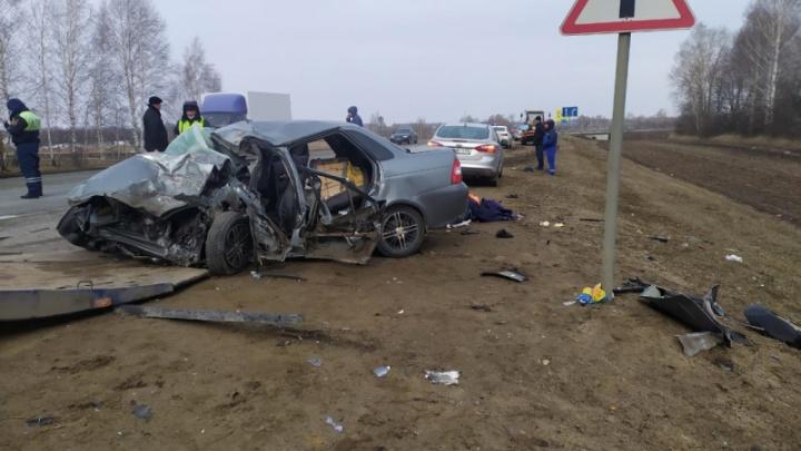 Трое волгоградцев погибли в страшном ДТП в Тамбовской области