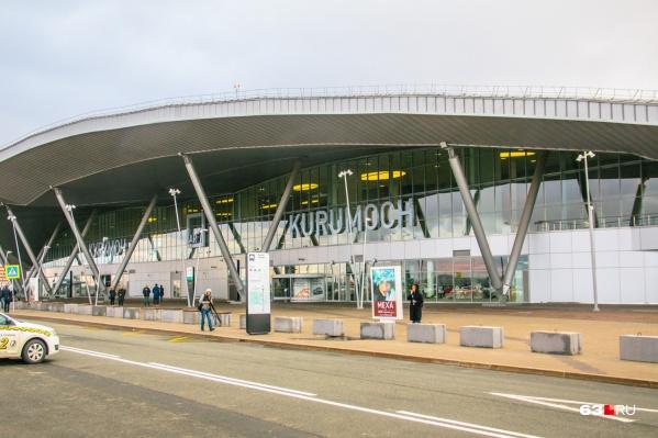Новое здание аэропорта функционирует в Курумоче с 2015 года