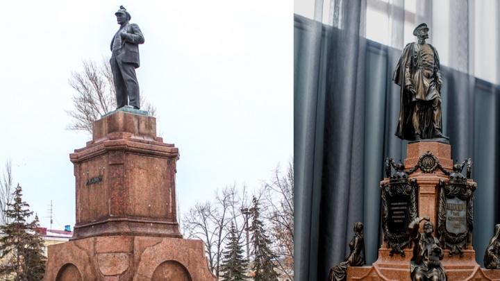 Владимир Ильич vs император: в распоряжении 63.RU появились фото будущего памятника Александру II