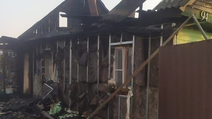 Пострадавшие рассказали о взрывах на месте пожара, который переполошил челябинцев