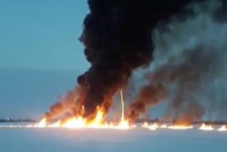 Власти ХМАО сообщили о ликвидации пожара на Оби после взрыва газа. Эти данные никто неподтвердил