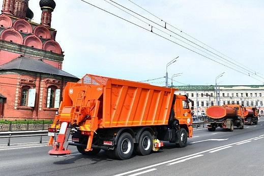 Первая репетиция зимней уборки в Ярославле прошла 20 августа