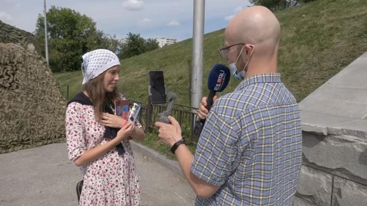Для чего сотни верующих приехали в Екатеринбург? Общаемся с паломниками в прямом эфире