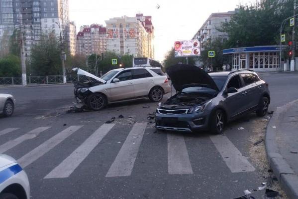 Одному из водителей потребовалась медицинская помощь