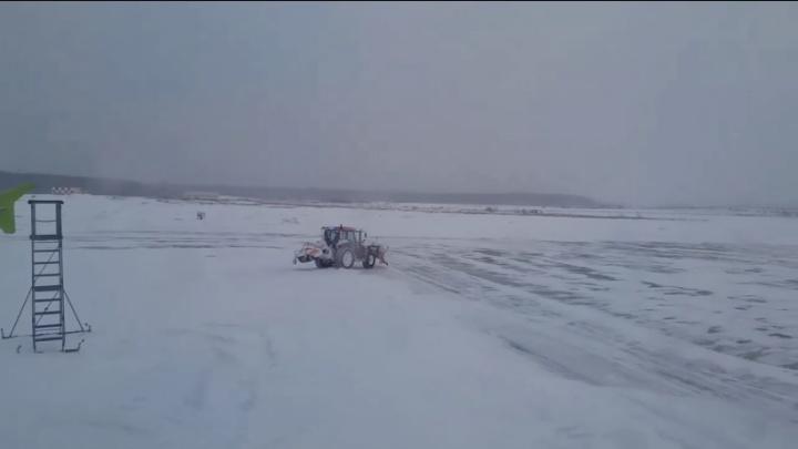 Волгоградка рассказала о приключениях в заснеженном аэропорту Домодедово