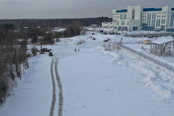 Дорога пройдет от Спешилова к медцентрам