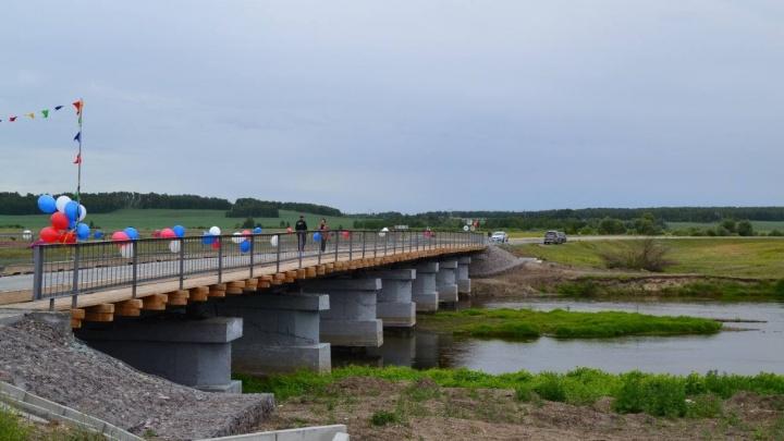 В Зауралье открыли движение по мосту, по которому боялись возить школьников