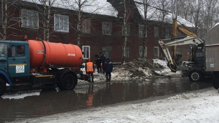 Более 30домов Новодвинска остались без холодной воды из-за аварии. Прокуратура проводит проверку