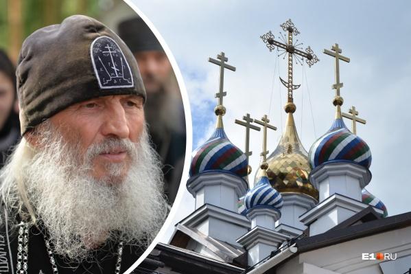 Адвокаты бывшего схимонаха Сергия (Романова) пытаются через суд доказать, что он имеет право владеть зданием захваченного храма