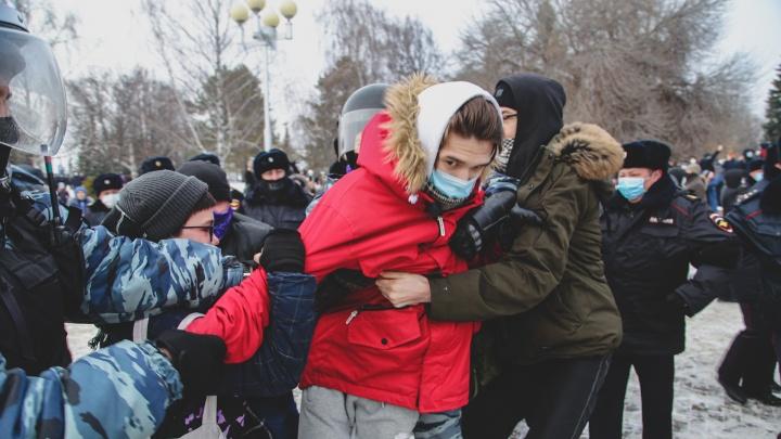 Лицо протеста: показываем, кого задержали силовики на несогласованном митинге в Уфе