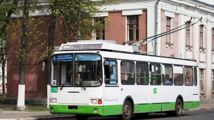 В Ярославле изменится схема маршрутов троллейбусов
