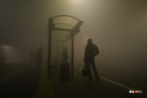 Люди с утра не могли дождаться автобусов