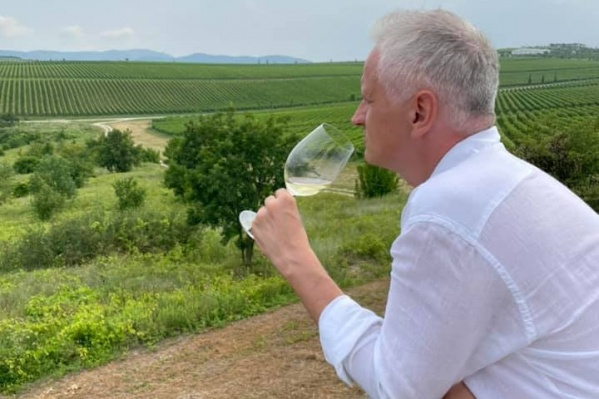 Максим Путинцев остался доволен вкусом кубанских вин