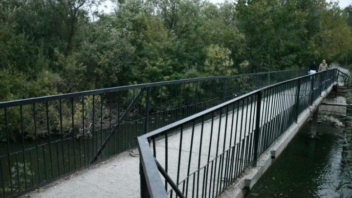 Возле парка Маяковского построят новый мост с велодорожками и красивой подсветкой