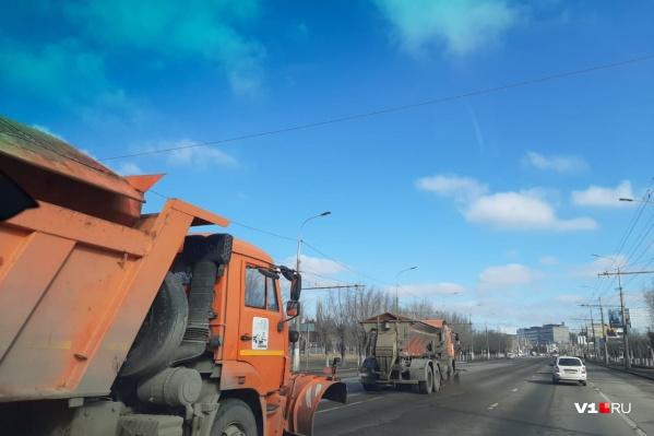 Большая уборка ждет Волгоград сразу же, как позволит погода