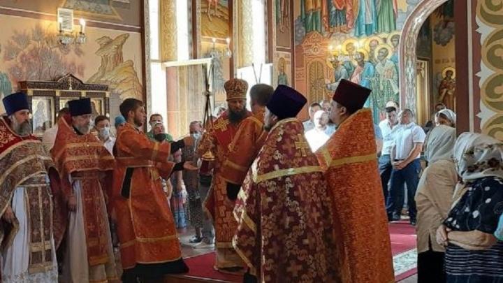 В Садах Придонья провели праздничное богослужение