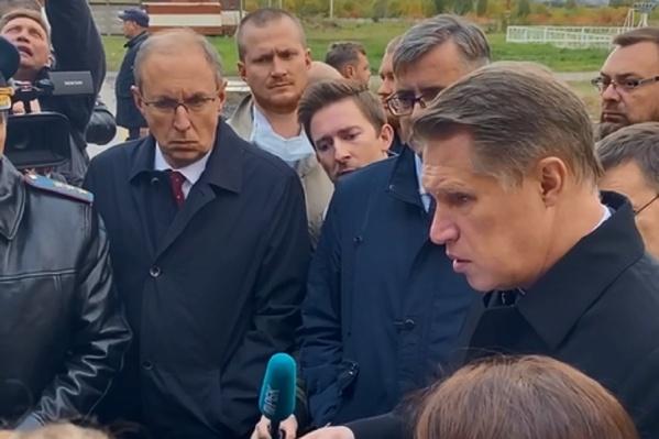 Михаил Мурашко принял участие в совещании, на котором обсуждали состояние пострадавших при стрельбе в ПГНИУ