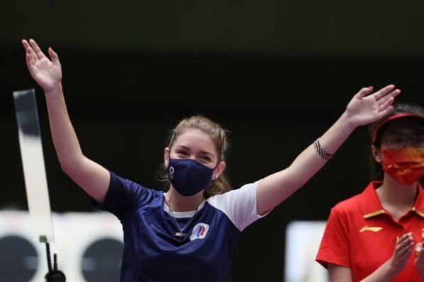 Из олимпийского Токио омичка возвращается с тремя наградами, две из которых — золотые